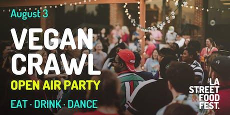 LA Street Food Fest : Vegan Crawl Open Air Party tickets