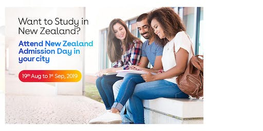 Study in New Zealand- Free New Zealand Education Fair in Delhi - Aug-Sep 2019