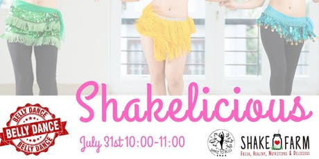 Shakelicious Fitness Belly Dancing Class tickets
