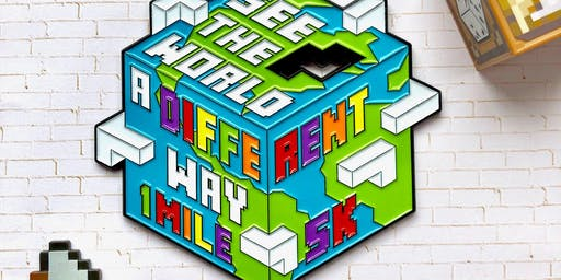 Now Only $12! See the World Differently- 1M/5K Autism Awareness-Oakland