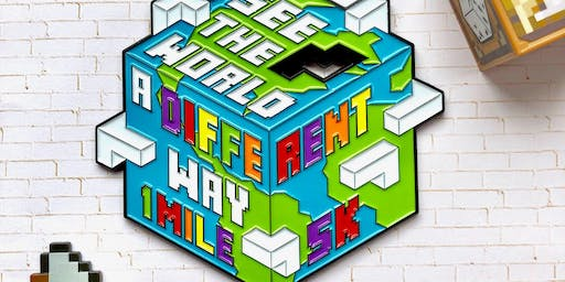 Now Only $12! See the World Differently- 1M/5K Autism Awareness-San Diego