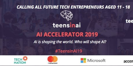 Teens in AI-Accelerator 2019 DEMO DAY -London tickets