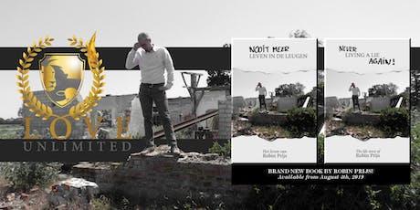 Boekpresentatie: 'Nooit meer leven in de leugen' (Robin Prijs) tickets