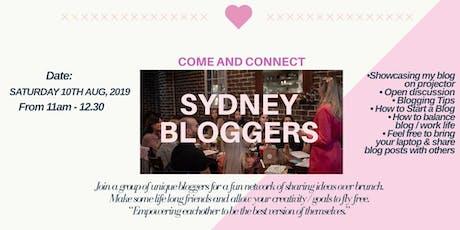 Sydney Bloggers Meetup tickets