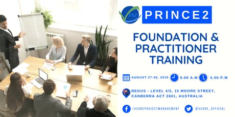 Prince2 Foundation | Practitioner Training | August | 2019 | Canberra tickets