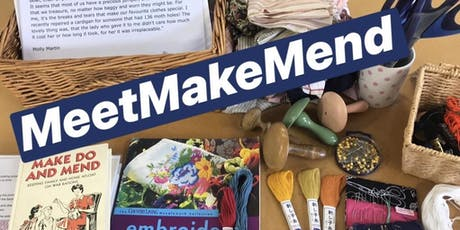 MEET•MAKE•MEND Visible Mending Circle at BTQ tickets