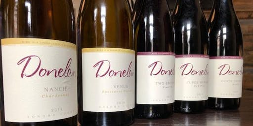 5 Course Wine Dinner with Donelan Family Wines