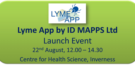Lyme App by IDMAPPS Ltd - Launch Event tickets
