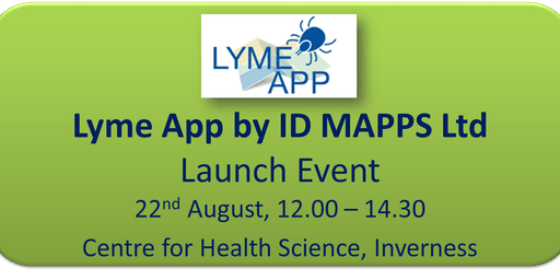 Lyme App by IDMAPPS Ltd - Launch Event