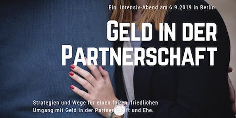 Geld in der Partnerschaft Tickets