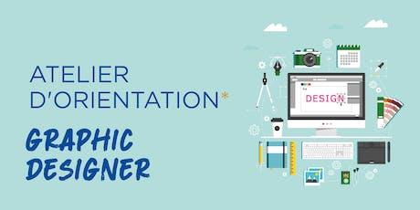 Atelier d'Orientation - Le Graphique Designer billets
