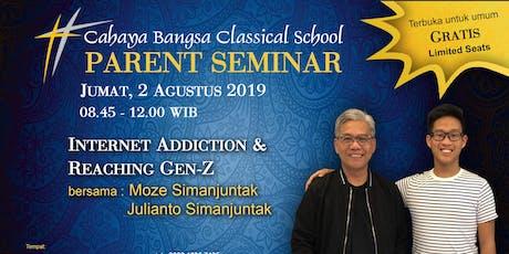 Parents Seminar tickets