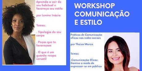 Workshop de Comunicação e Estilo tickets