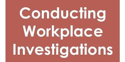 Conducting Workplace Investigations - Aberdare
