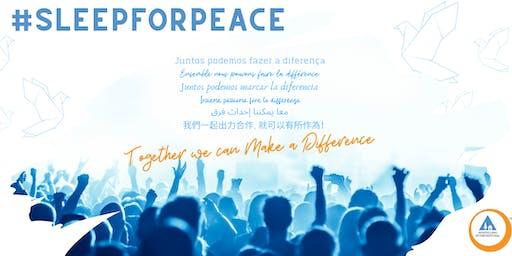 Hostelling International: Sleep for Peace panel event