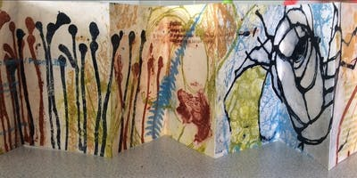 Sophie Fordham - Paper Litho (Gum Arabic transfer) Printmaking