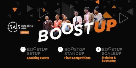 BOOST UP - SETUP (Pitch Training) Lusaka tickets