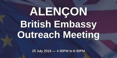 British Embassy Outreach Meeting - ALENÇON