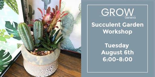 Succulent Garden Workshop