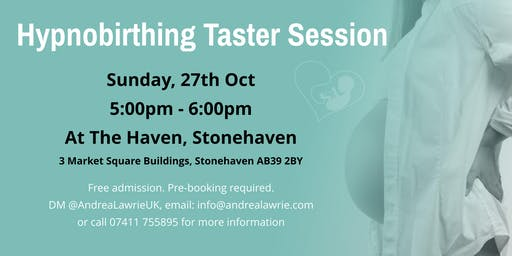 Free Hypnobirthing Taster Session