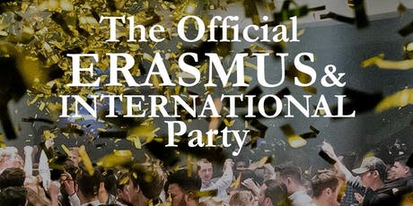 Official Erasmus & International Party tickets