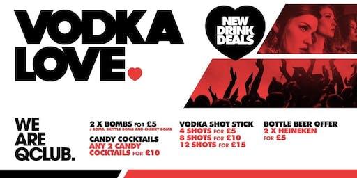 Vodka Love Mondays!