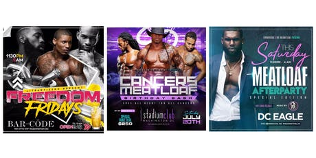 MEATLOAF WKND IN THE DMV 2 NIGHTS 3 EVENTS tickets