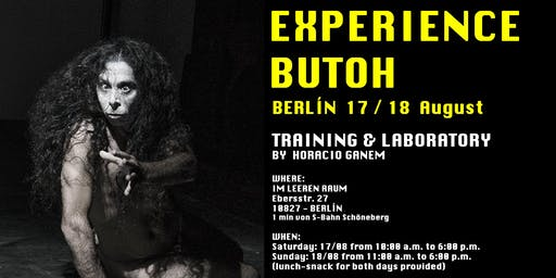 EXPERIENCE BUTOH