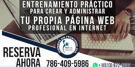 Entrenamiento Práctico para Crear y Administrar tu Página Web Profesional entradas