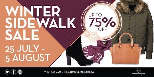 Killarney Mall Winter Sidewalk Sale
