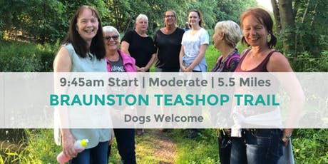 BRAUNSTON TEASHOP TRAIL  | 5.5 MILES | MODERATE | NORTHANTS tickets