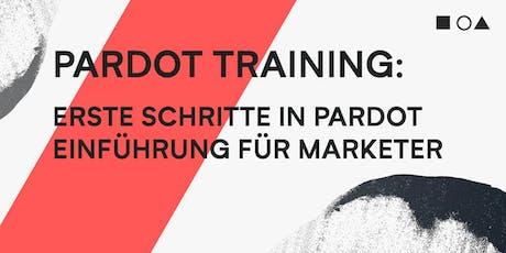PARDOT TRAINING - ERSTE SCHRITTE IN PARDOT - EINFÜHRUNG FÜR MARKETER (04.09.+05.09.) Tickets