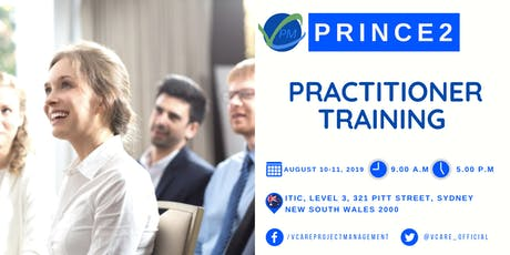 Prince2 Practitioner Training | Sydney | August | 2019 tickets
