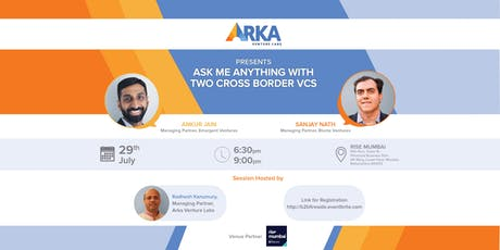 Ask me Anything with 2 Cross Border VCs tickets