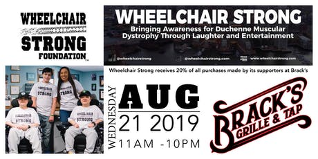 Brack's Fundraiser for the Wheelchair Strong Foundation tickets