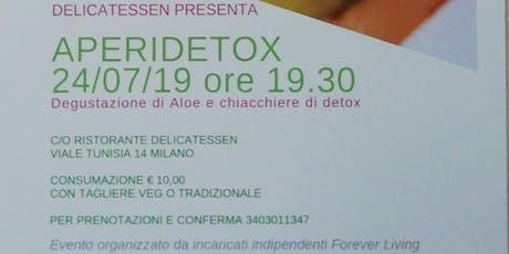 APERIDETOX biglietti