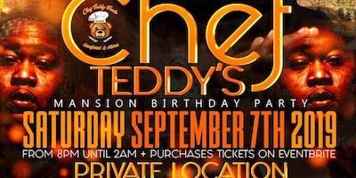 Chef Teddy's Mansion Birthday Party Celebration #TheOfficialVirgoTakeover