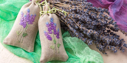 Free Upcycling Workshop - Making Lavender Bags Out of Scrap Fabric