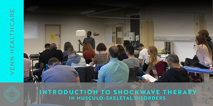 SHOCKWAVE THERAPY for MSK conditions :  LEVEL 1 with Benoy Mathew image