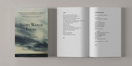 Book Launch - Night Watch Poems by B.G. Donohue
