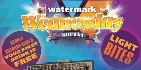 September's Watermark Wednesday Networking Social tickets