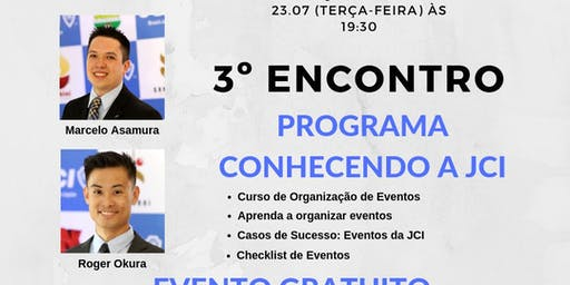 3o Encontro Programa Conhecendo a JCI