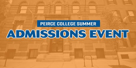 Peirce College Summer Admissions Event tickets