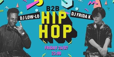 Hip-Hop b2b Night - The Yellow Bar