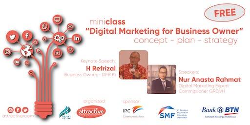 [MiniClass] Digital Marketing for Business Owner