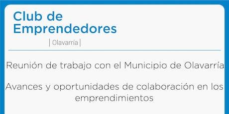 Reunión de Trabajo con el Municipio de Olavarría - Club de Emprendedores Olavarría entradas