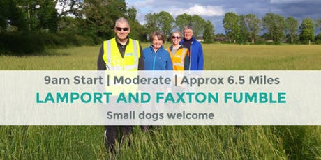 LAMPORT AND FAXTON FUMBLE | 6.5 MILES | MODERATE | NORTHANTS tickets