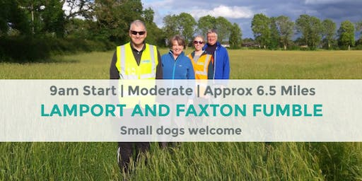 LAMPORT AND FAXTON FUMBLE | 6.5 MILES | MODERATE | NORTHANTS