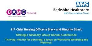 11th Chief Nursing Officer's Black and Minority Ethnic...