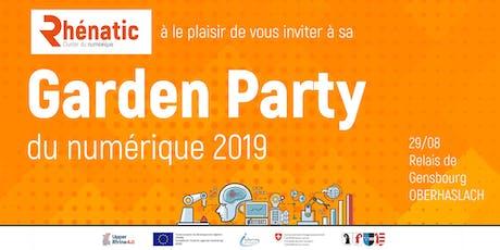 Garden Party du numérique - by Rhénatic billets